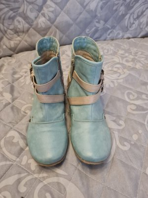 Mustang Shoes Western Booties cadet blue