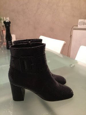 Bruno Premi Zipper Booties dark blue