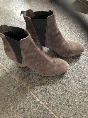 fabio rusconi Slip-on Booties grey brown