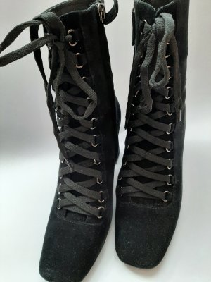 Bibi Lou Bottes à lacets noir