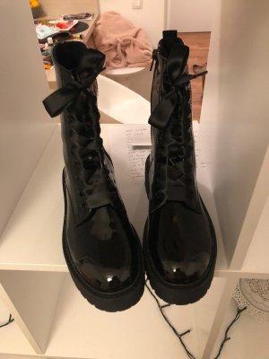 Deichmann Platform Booties black
