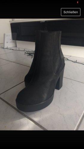 Stiefeletten schwarz H&M