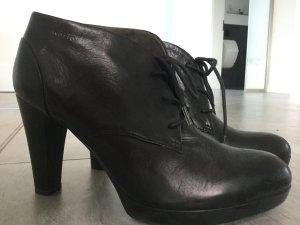 Tamaris Patucos con plataforma negro Cuero