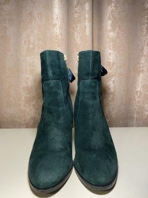 Tamaris Botines verde oscuro