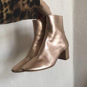 Stiefeletten Topshop Metallic Rose Stiefel Schuhe