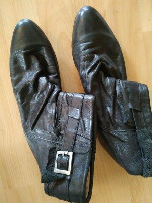 Stiefeletten Velvedred kleine Gr. 40 schwarz