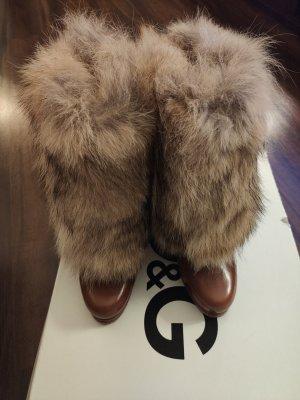 D&G Winter boots brons