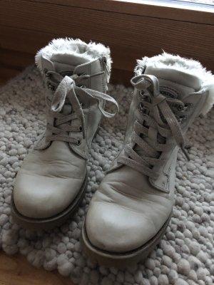 Dockers Botines de invierno gris claro-color plata