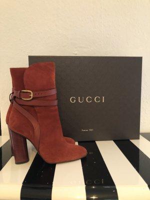 Gucci Slip-on laarzen cognac-bruin