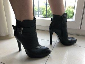 Mai piu senza Platform Booties black leather
