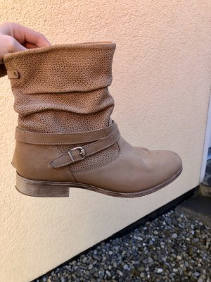 Pier one Botines slouch marrón grisáceo-beige