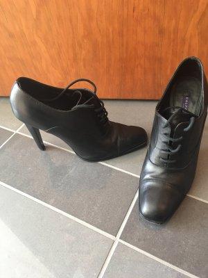 Ralph Lauren Bottines à lacets noir