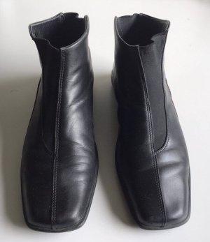 Stiefeletten von Rieker Leder schwarz