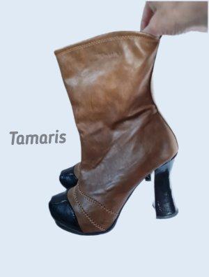 Stiefeletten von Tamaris Braun Gr. 39 - Wie Neu