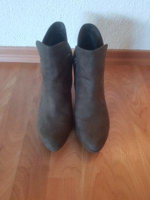 Tamaris Krótkie buty zielono-szary