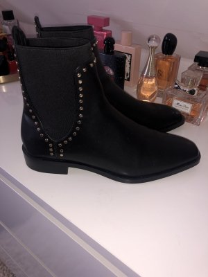 Zara Bottines à enfiler noir