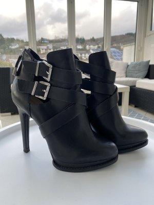 Stiefeletten Zara Gr. 37 schwarz