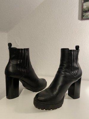 New Look Slip-on laarzen zwart