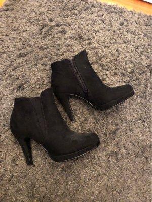 AHA-Fashion Botas con cremallera negro