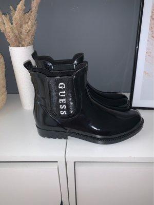 Guess Wellington laarzen zwart-wit