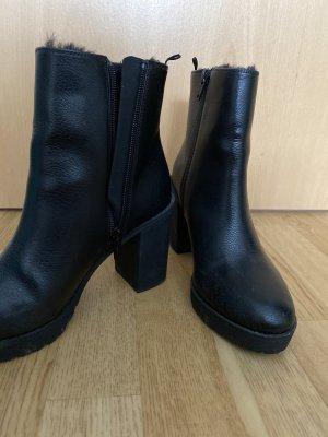H&M Short Boots black