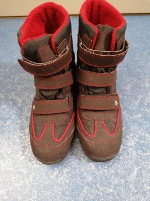 Winter Booties brown-red
