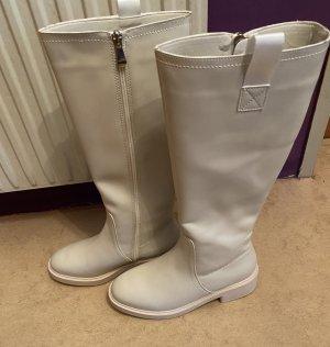 XIGUAUK Botas de invierno blanco puro-crema