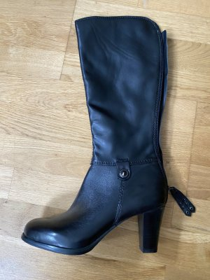 5 th Avenue Heel Boots black