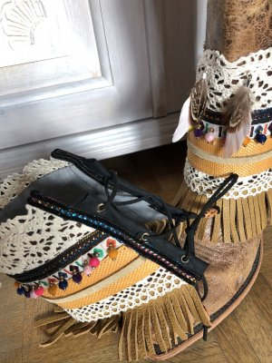 Handmade Puño multicolor Cuero