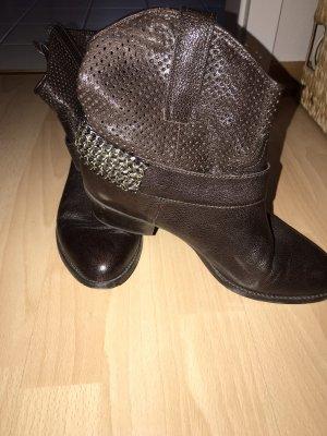 Stiefelten Cowboy braun 39