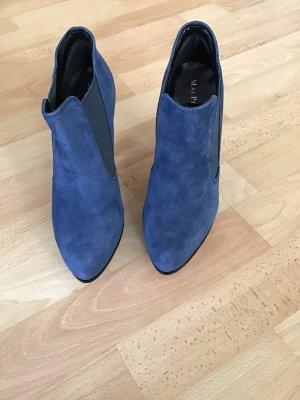 Mai piu senza Buty z krótką cholewką na platformie niebieski