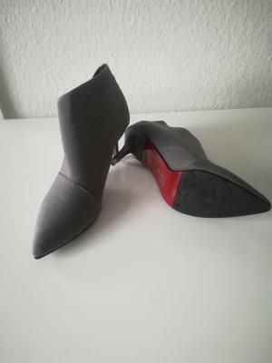 Booties grey-red