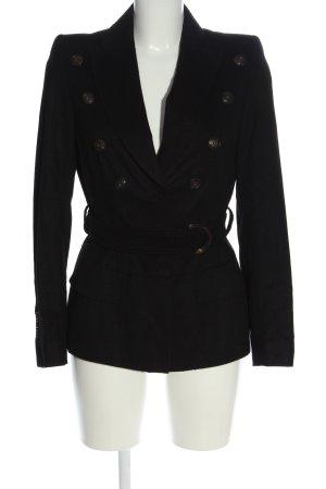 STIFF Krótki płaszcz brązowy W stylu casual
