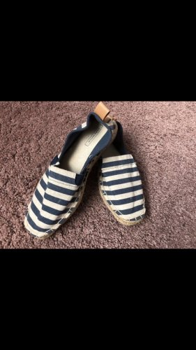 Zara Slip-on Shoes white-blue