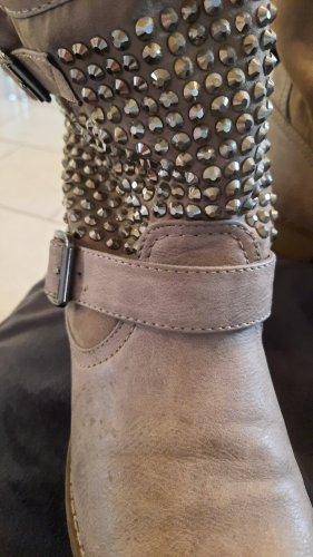 Jumex Slip-on Booties grey