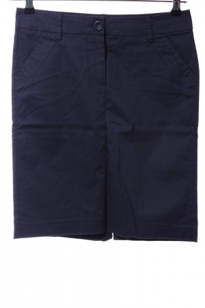 Stile Benetton Bleistiftrock blau Casual-Look