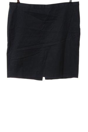Stile Benetton Bleistiftrock schwarz Business-Look
