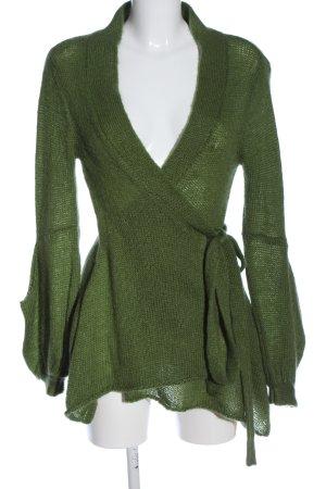 Stile Benetton Cardigan grün Casual-Look