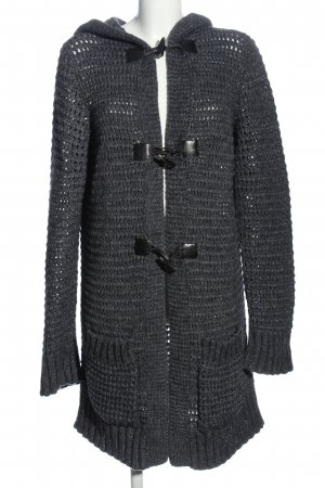 Stile Benetton Cardigan hellgrau-silberfarben Casual-Look