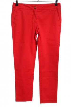 Stile Benetton Chinohose rot Casual-Look