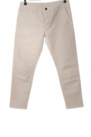 Stile Benetton Chinohose wollweiß Casual-Look
