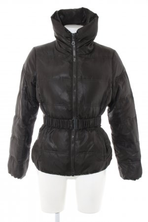 Stile Benetton Daunenjacke schwarz Steppmuster Casual-Look
