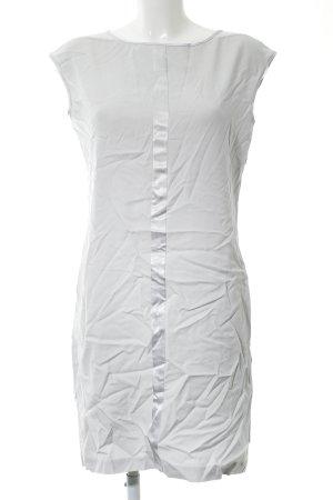 Stile Benetton Sheath Dress light grey-silver-colored elegant