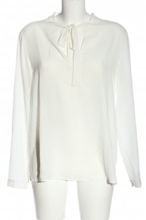 Stile Benetton Hemd-Bluse weiß Casual-Look