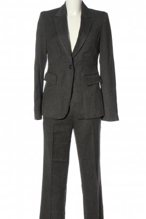 Stile Benetton Trouser Suit light grey flecked business style