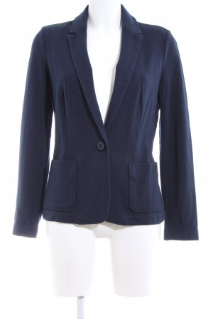Stile Benetton Jerseyblazer blau Casual-Look