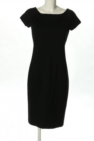 Stile Benetton Jerseykleid schwarz Business-Look