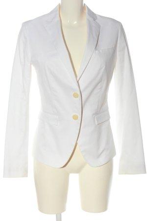 Stile Benetton Klassischer Blazer weiß Casual-Look