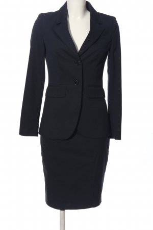 Stile Benetton Kostüm schwarz Business-Look