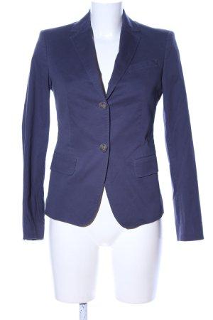 Stile Benetton Kurz-Blazer blau Business-Look